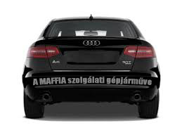 A MAFFIA szolgálat gépjárműve!